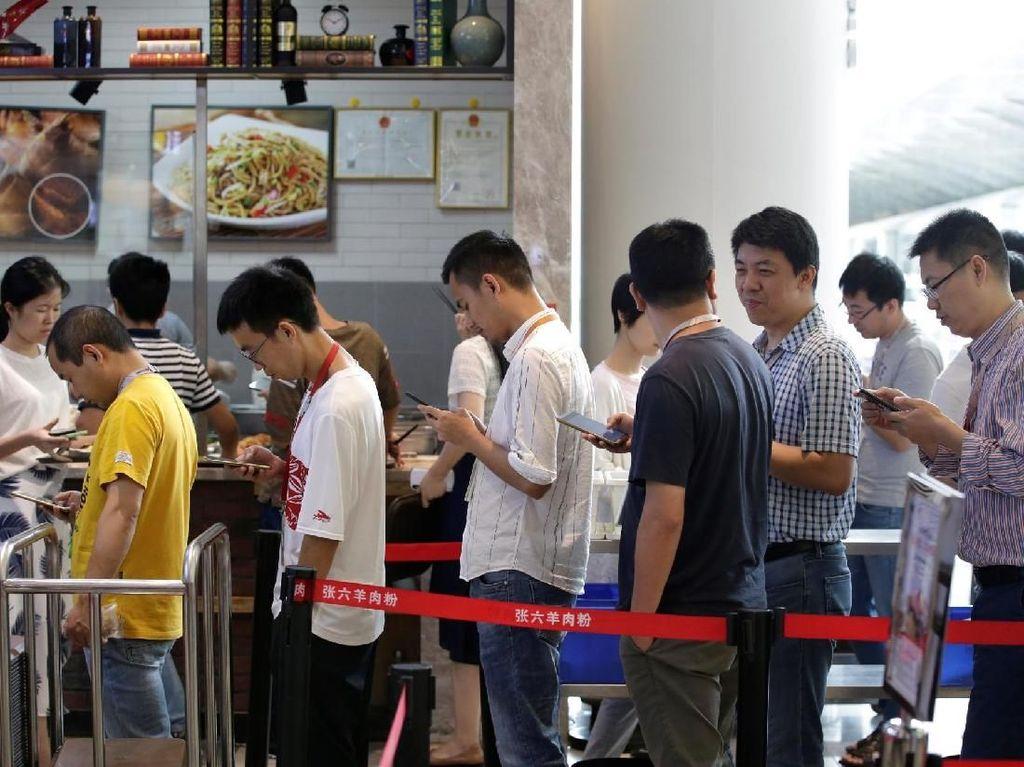 Melihat Suasana Kantor Pusat Huawei Pasca Dijegal AS