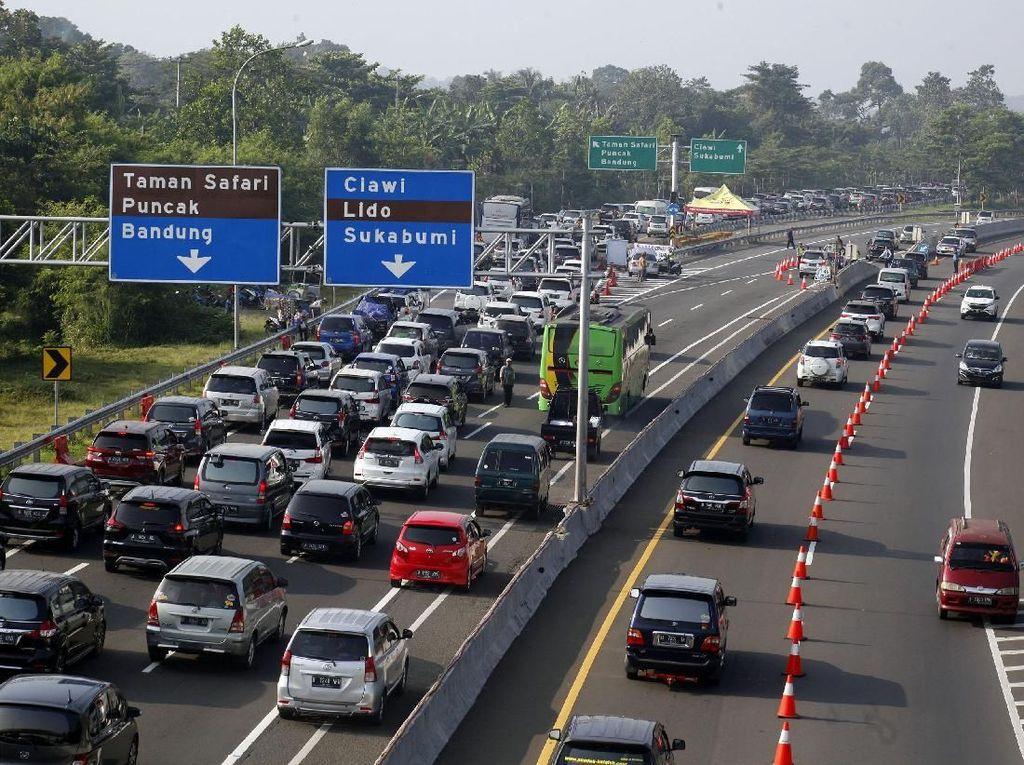 Diuji Coba 27 Oktober, Begini Teknis Sistem 2-1 di Jalur Puncak Bogor