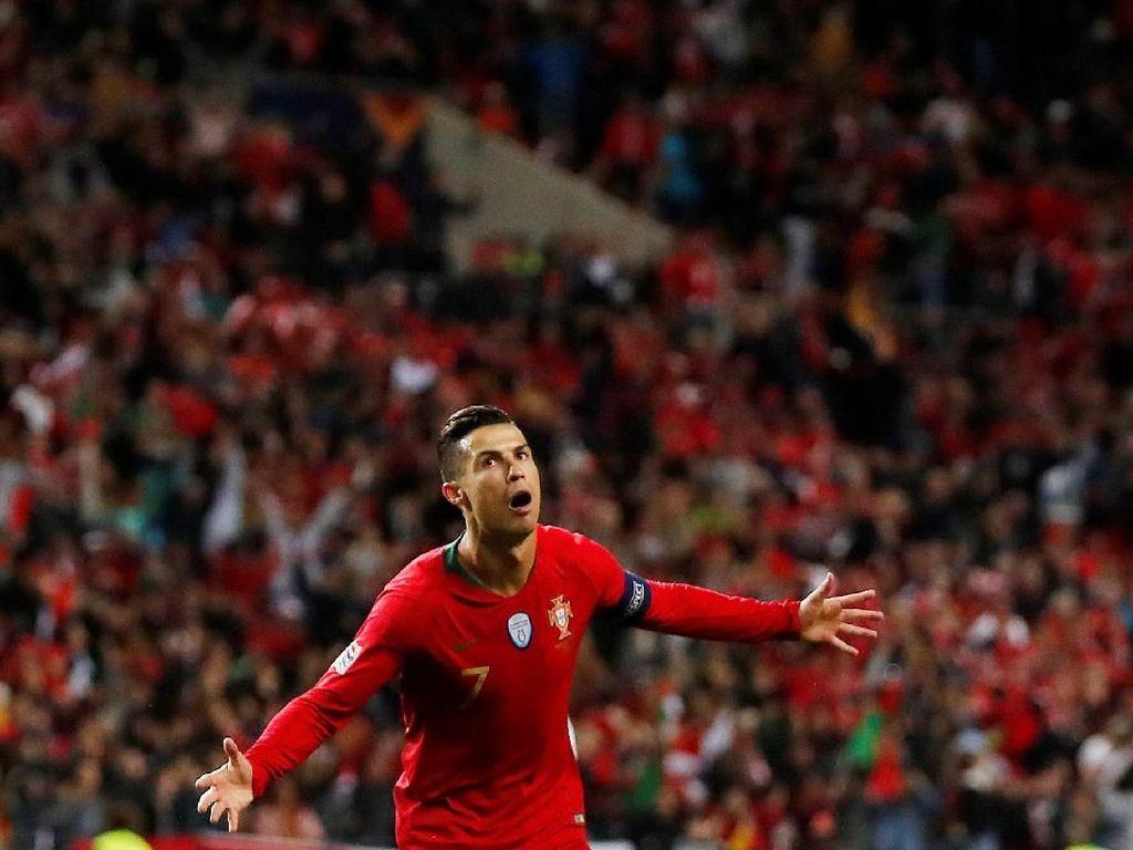 Ronaldo Menanti Trofi Kedua untuk Timnas Portugal