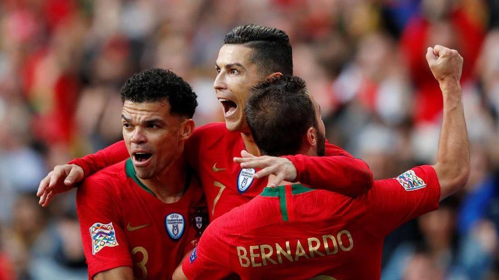 Hat-trick ke-53 Cristiano Ronaldo