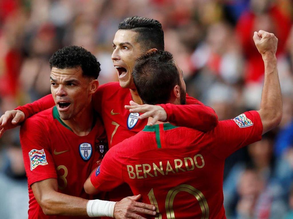 Ronaldo Hat-trick Lagi, Portugal ke Final UEFA Nations League