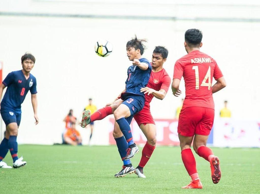 Hasil Merlion Cup 2019: Timnas U-23 Kalah dari Thailand