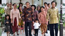 Tingkah Menggemaskan Jan Ethes Ikut Jokowi Silaturahmi ke Keraton Yogya