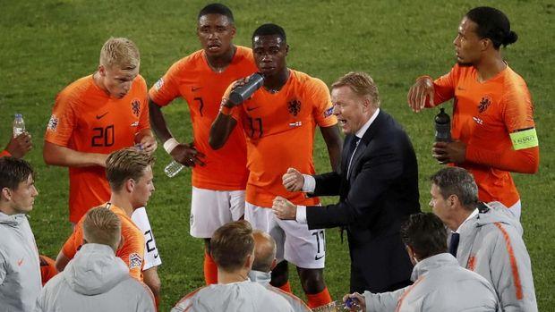 Timnas Belanda menang 3-1 atas Inggris di semifinal UEFA Nations League 2019.
