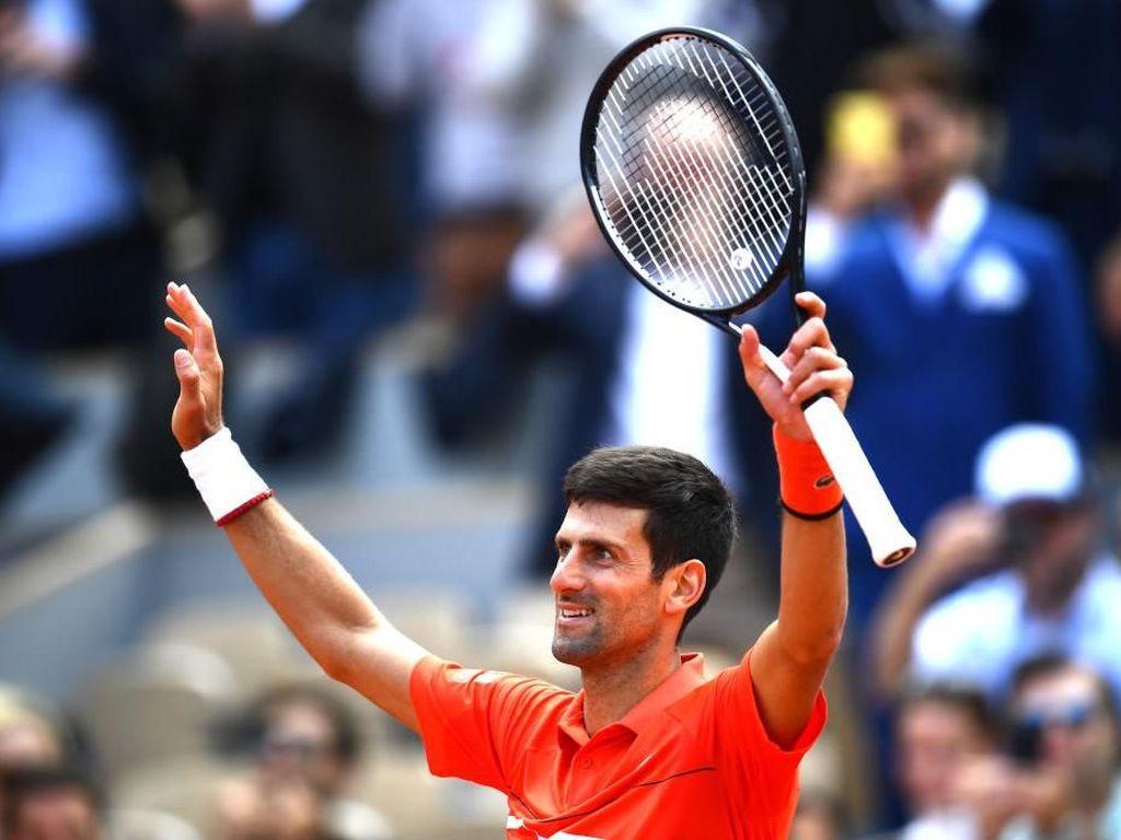 Novak Djokovic dan Dominic Thiem Melaju ke Semifinal Prancis Terbuka
