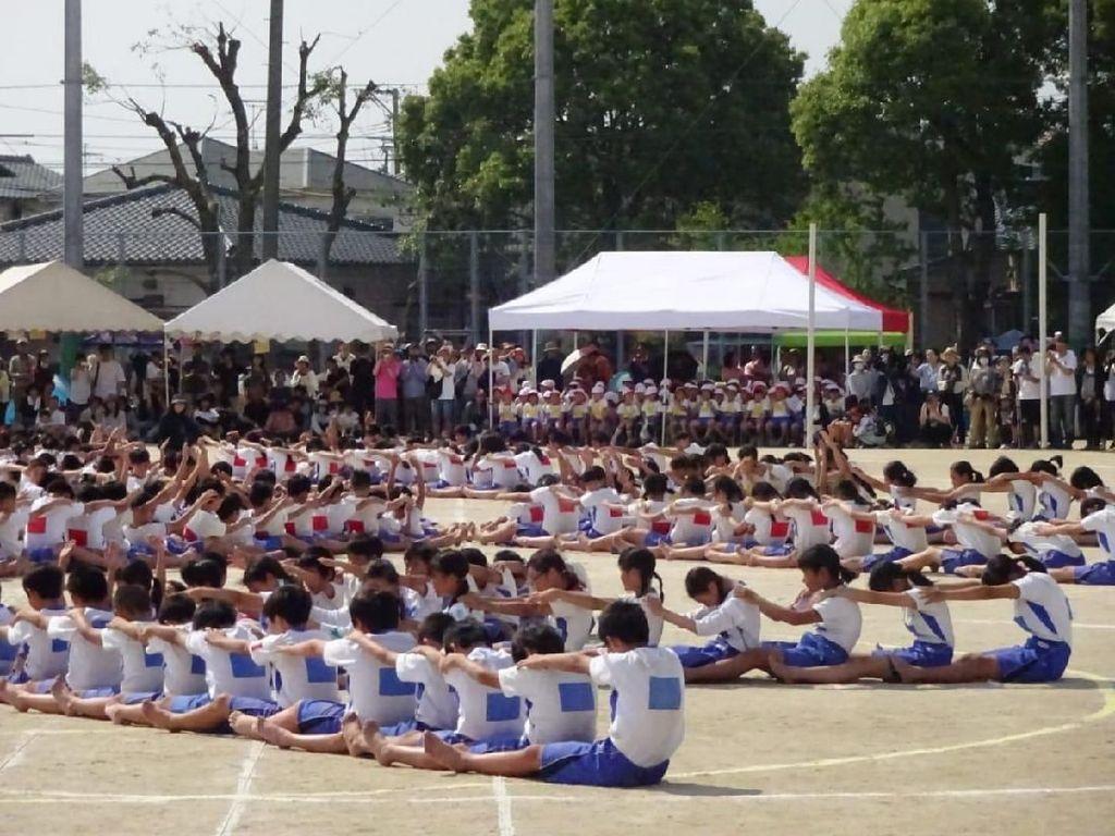 Tari Undokai dan Akhir Ramadhan di Jepang yang Panas