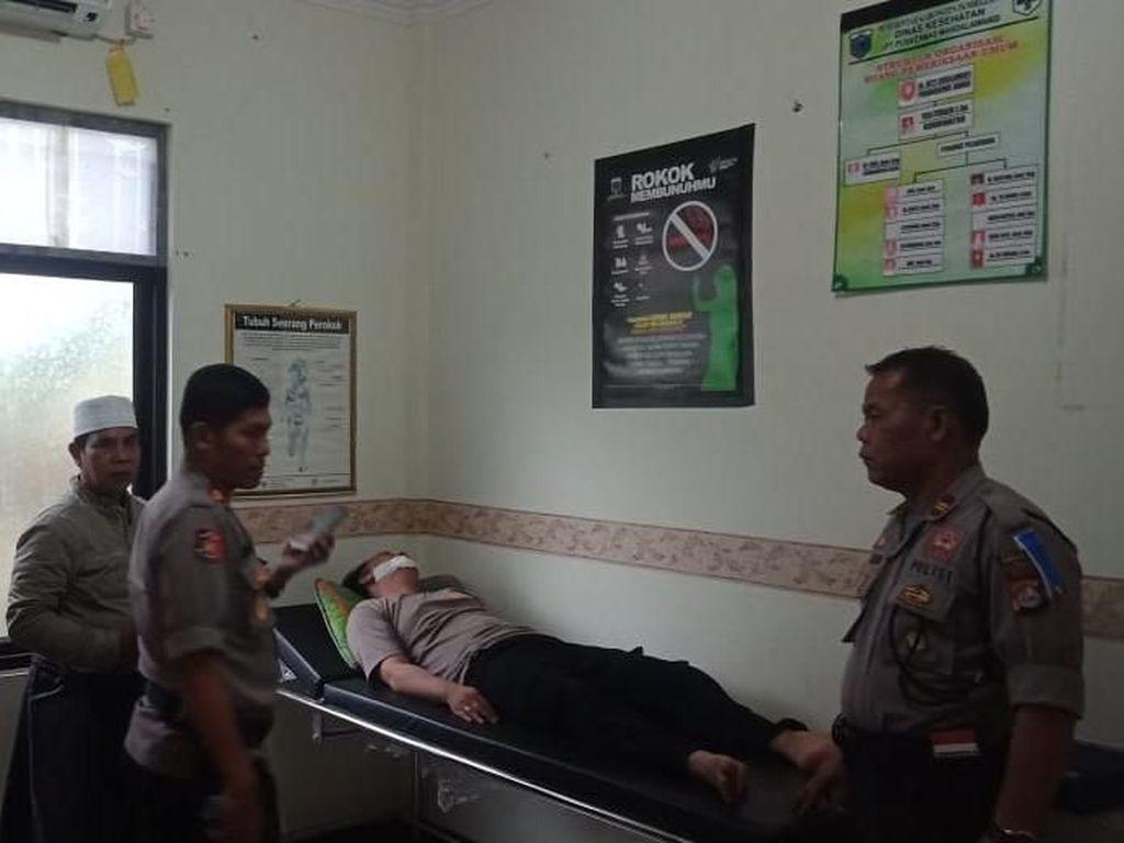 Orang Gangguan Jiwa di Pandeglang Tusuk Polisi yang Sedang Atur Lalin
