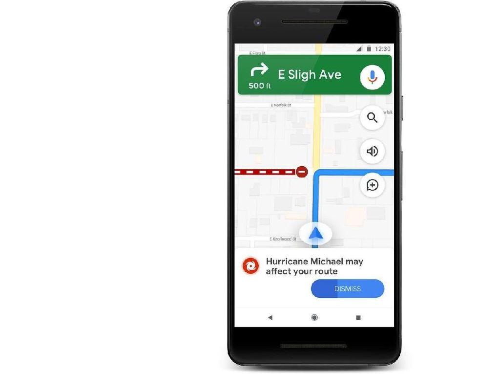Google Percantik Fitur Peringatan Dini Bencana