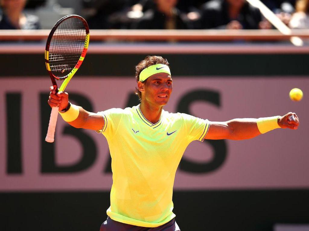 Kalahkan Federer, Nadal Jejak Final ke-12 di Prancis Terbuka