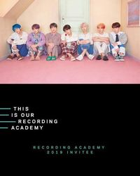 BTS invited by The Recording Academy