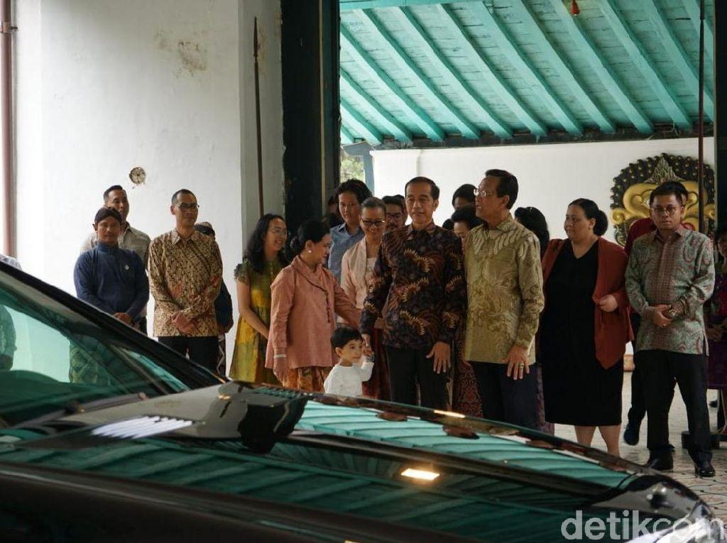 30 Menit Bertemu, Apa yang Dibicarakan Jokowi dan Sultan HB X