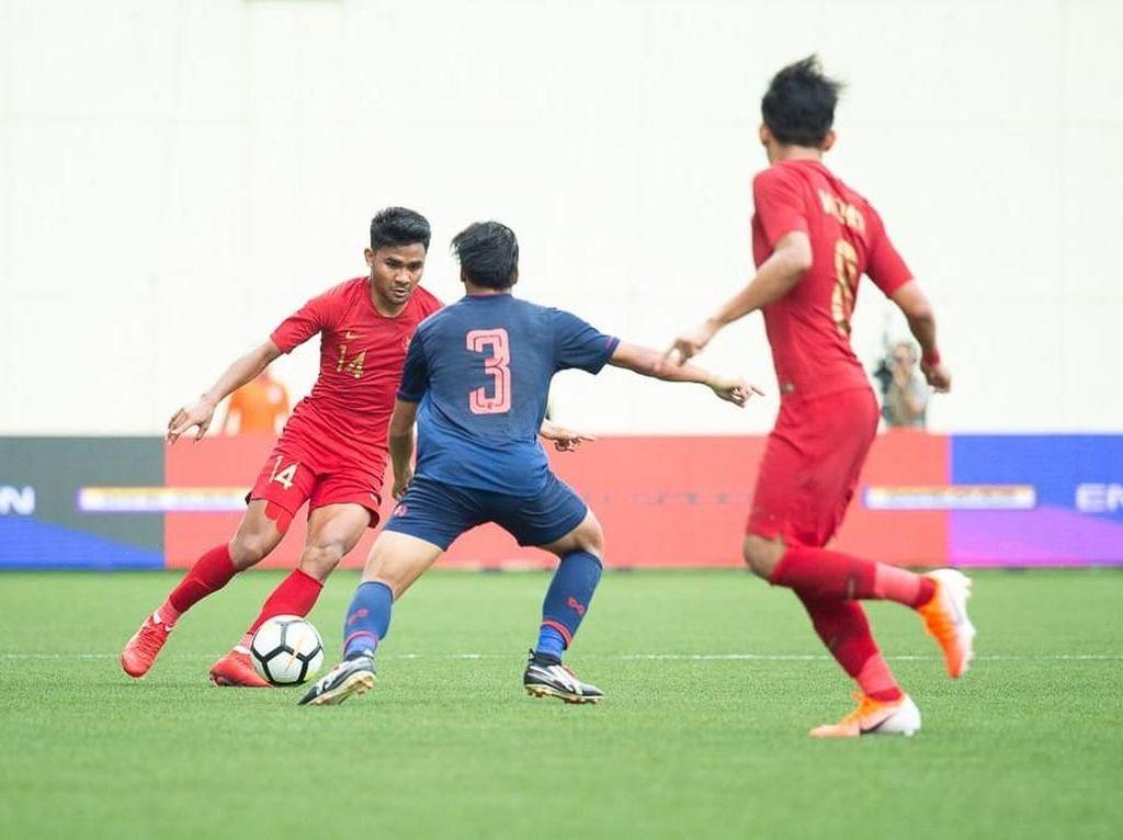 Timnas U-23 Kalah dari Thailand karena Masih Adaptasi