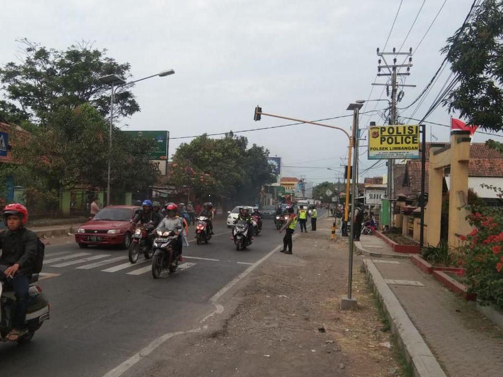 Polisi Mulai Terapkan One Way Gentong-Nagreg Sepanjang 40 KM