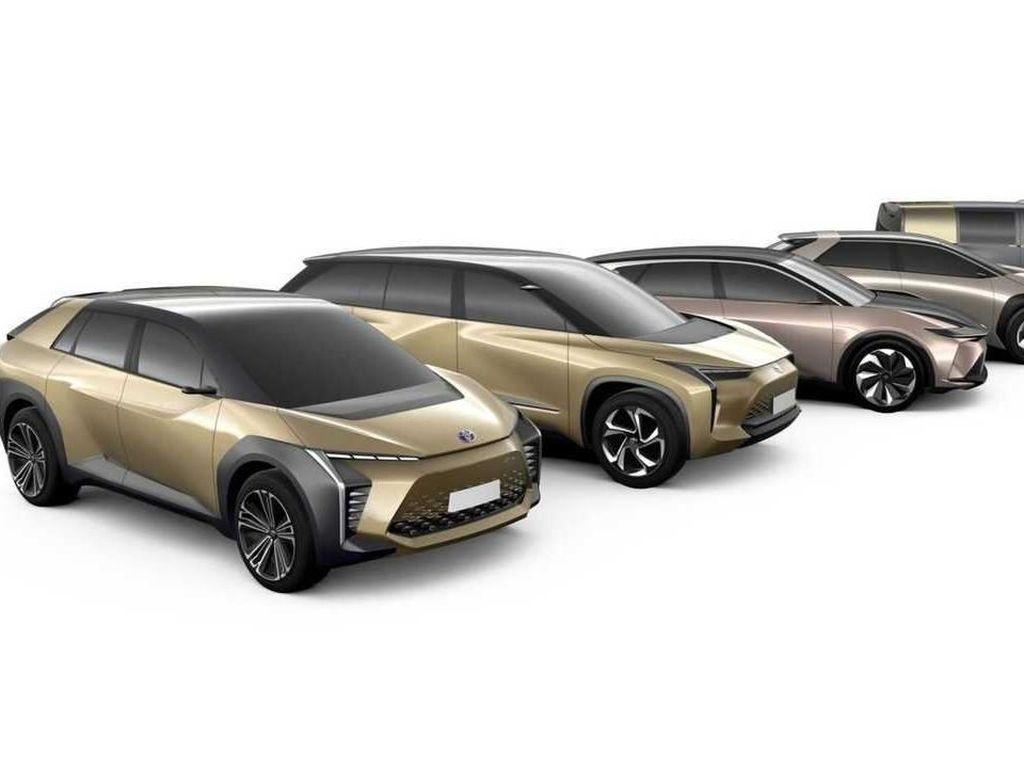 Toyota Siapkan 6 Mobil Listrik Berplatform TNGA