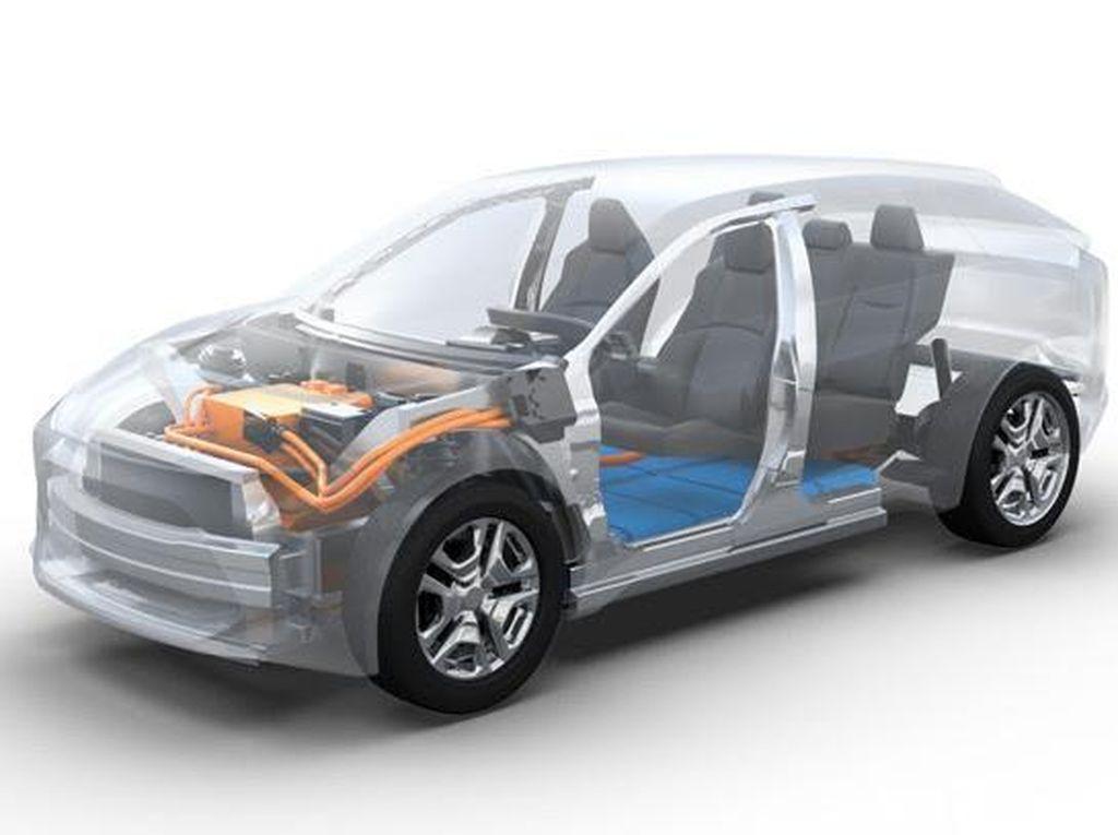 Toyota-Subaru Buat Mobil SUV Listrik Kembar
