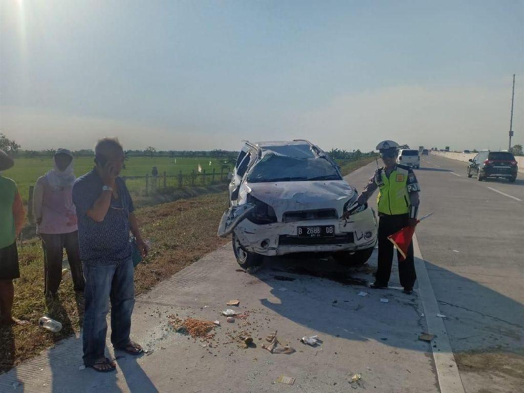 Arus Balik Lebaran, Kecelakaan Tunggal Terjadi di Tol Solo-Ngawi