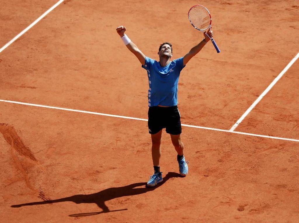 Prancis Terbuka: Singkirkan Djokovic, Thiem Tantang Nadal di Final