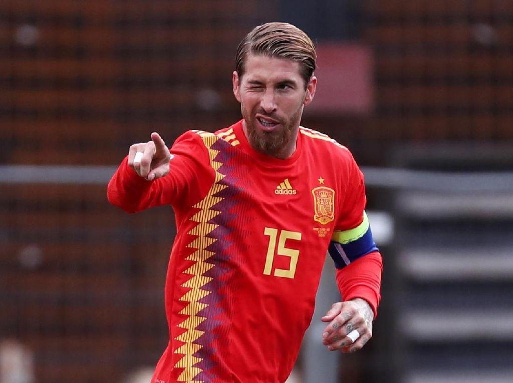 Spanyol Menang, Sergio Ramos Bikin Rekor