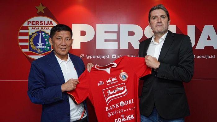 Julio Banuelos jadi pelatih Persija Jakarta. (Foto: dok. Persija Jakarta)