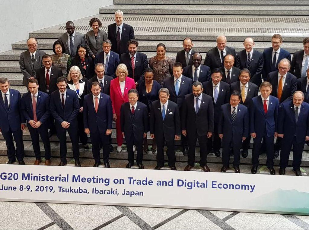 Menkominfo Bicara Privasi dan Perlindungan Data di Pertemuan G20