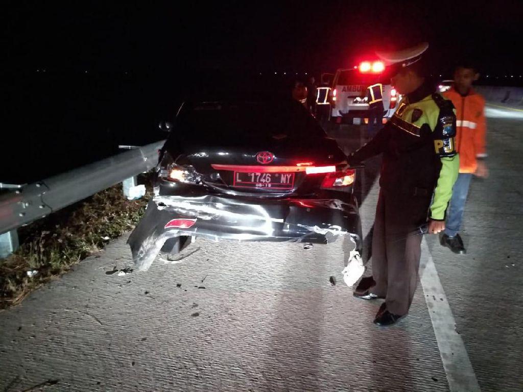 Kecelakaan Beruntun di Tol Madiun-Ngawi, 4 Orang Luka-luka