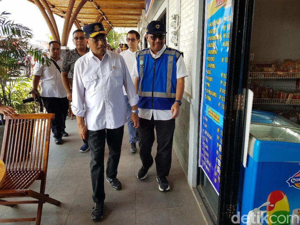 Arus Balik Lebaran, Menhub: Rest Area Hanya untuk Tempat Darurat