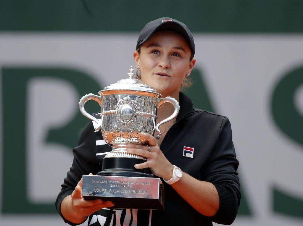 Ashleigh Barty Juara Prancis Terbuka 2019