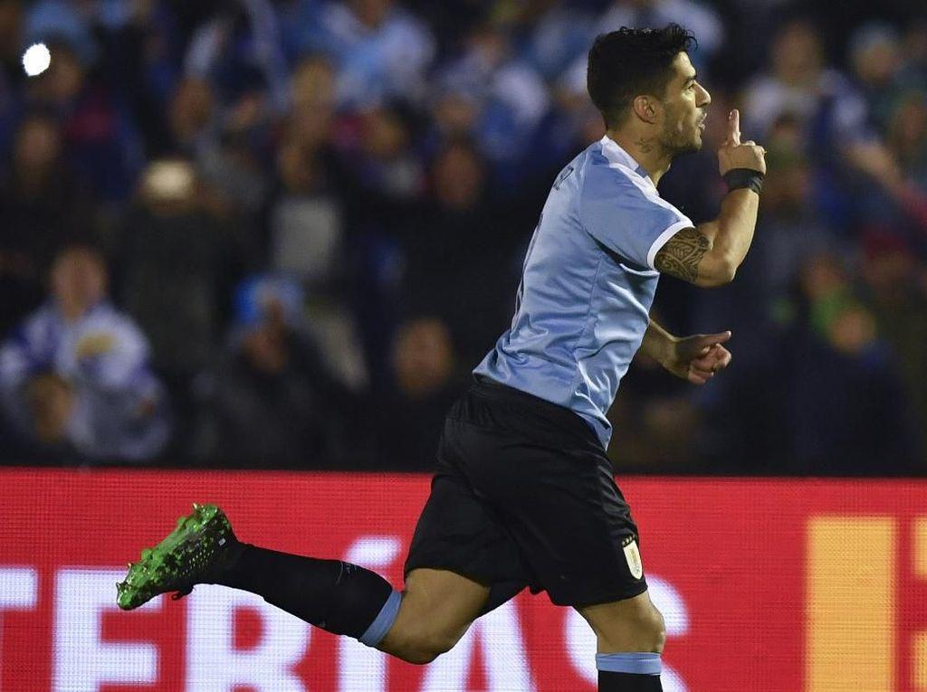 Pulih dari Cedera, Suarez Pede Emban Tugas di Copa America