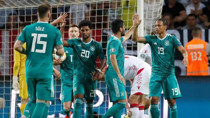 Timnas Jerman mengalahkan Belarusia 2-0 di Kualifikasi Piala Eropa 2020 (REUTERS/Vasily Fedosenko)