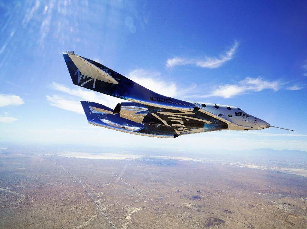 Duet Boeing-Virgin Galantic Wujudkan Wisata Luar Angkasa
