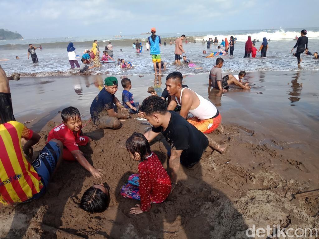 Jumlah Wisatawan Pangandaran Turun Dibanding Libur Lebaran 2018