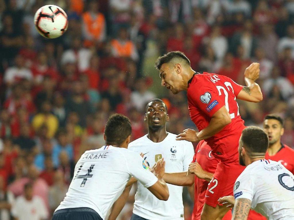 Kualifikasi Piala Eropa 2020: Prancis Tumbang 0-2 di Kandang Turki