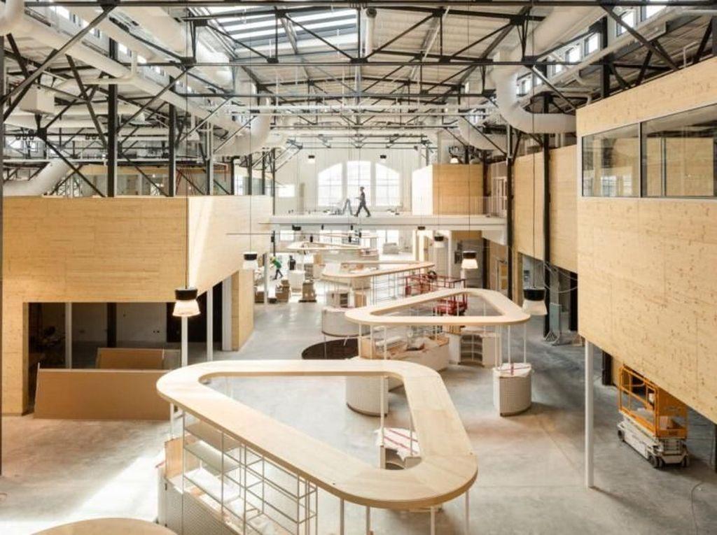 Bangunan Berusia Seabad Disulap Jadi Pasar Modern, Begini Jadinya