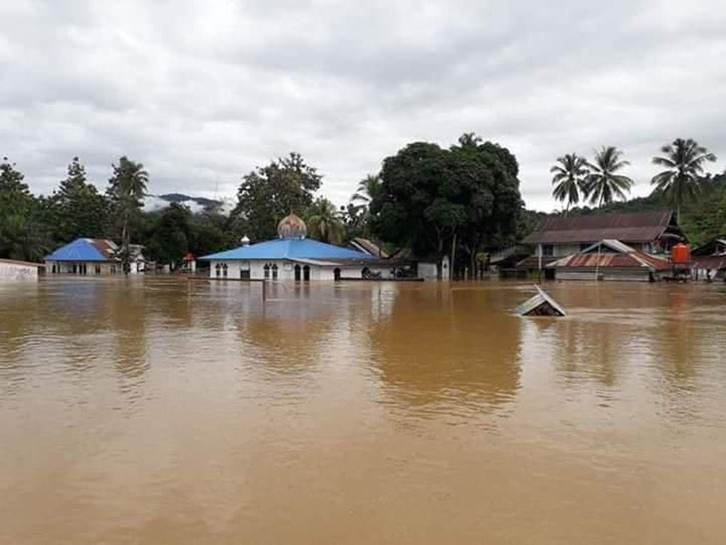 Potret Banjir Konawe Utara: 58 Rumah Hanyut, Ribuan Terendam