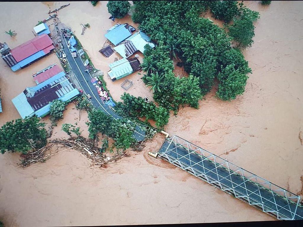 Banjir Usai Lebaran Landa Sulawesi dan Kalimantan