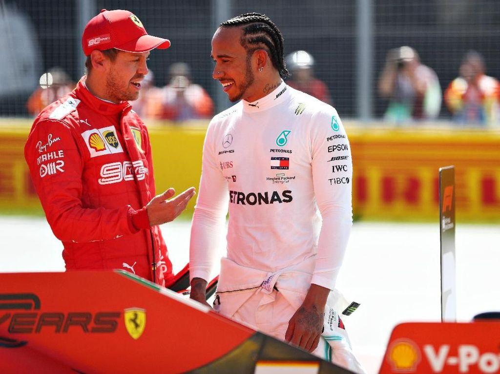 Vettel Pole di Kanada, Hamilton pun Bahagia