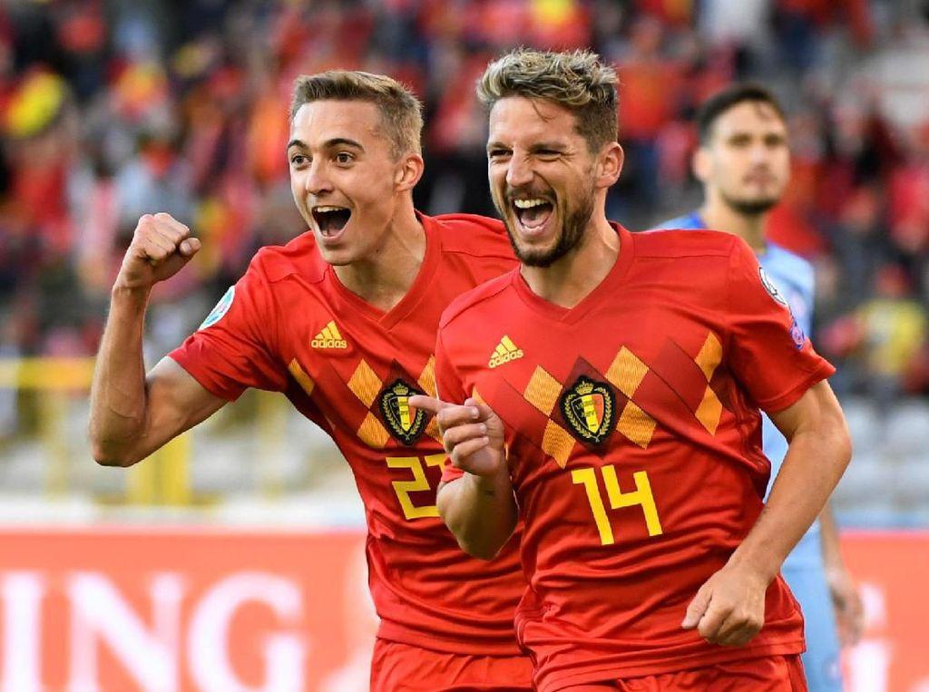 Hasil Belgia vs Kazakhstan: Dominan, Red Devils Menang Tiga Gol Tanpa Balas