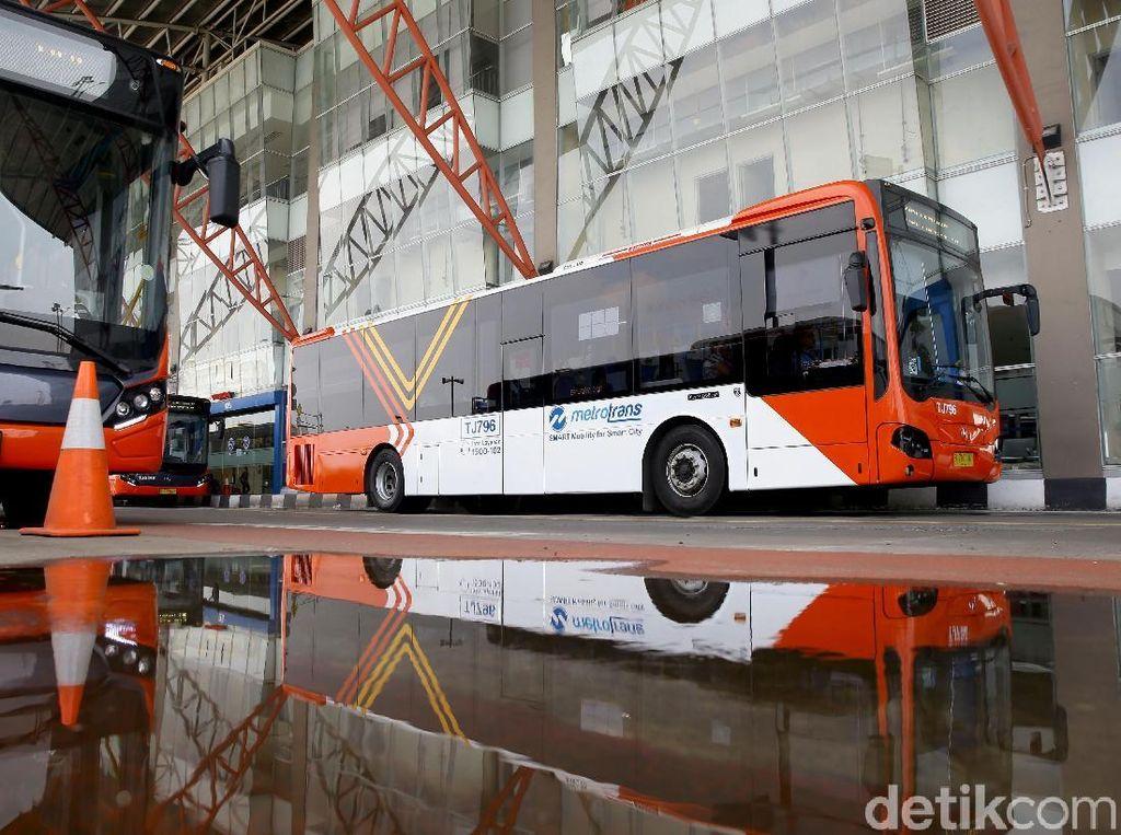 Asyik, Ada Transjakarta Gratis di Terminal Pulo Gebang