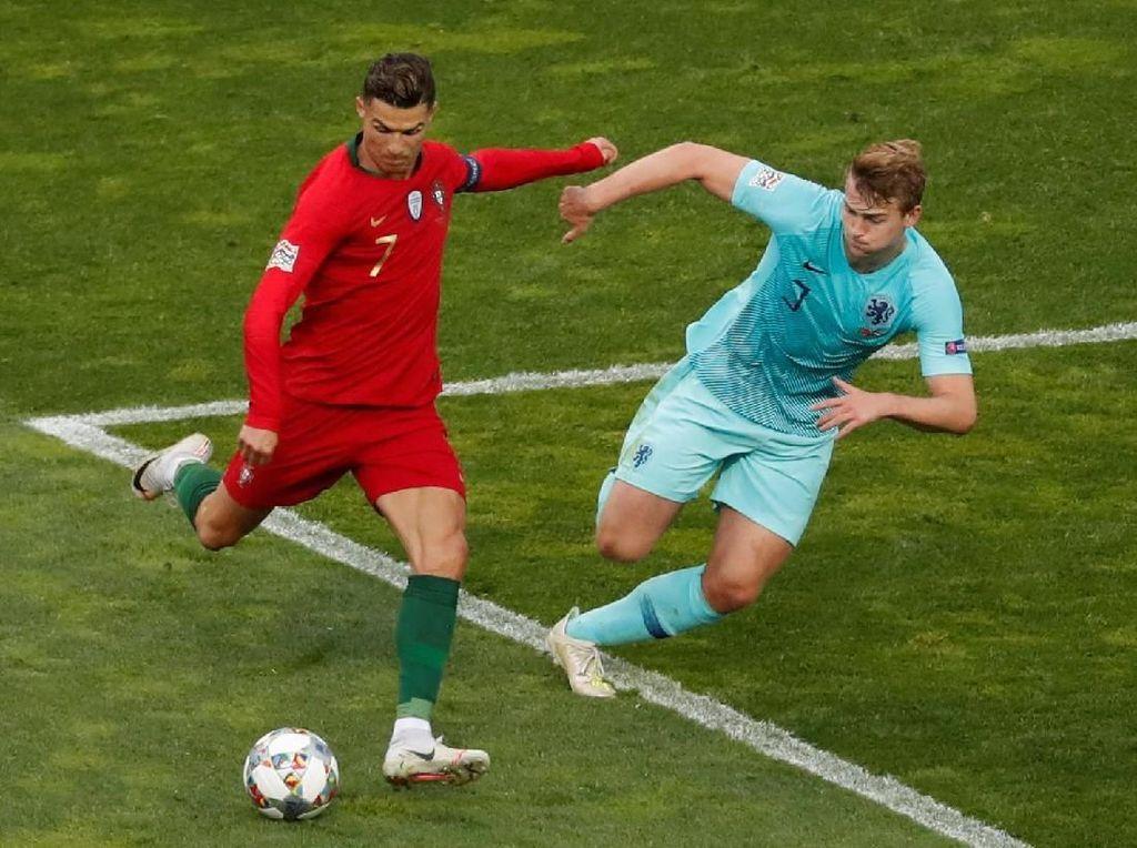 De Ligt: Ronaldo Mengajakku ke Juventus