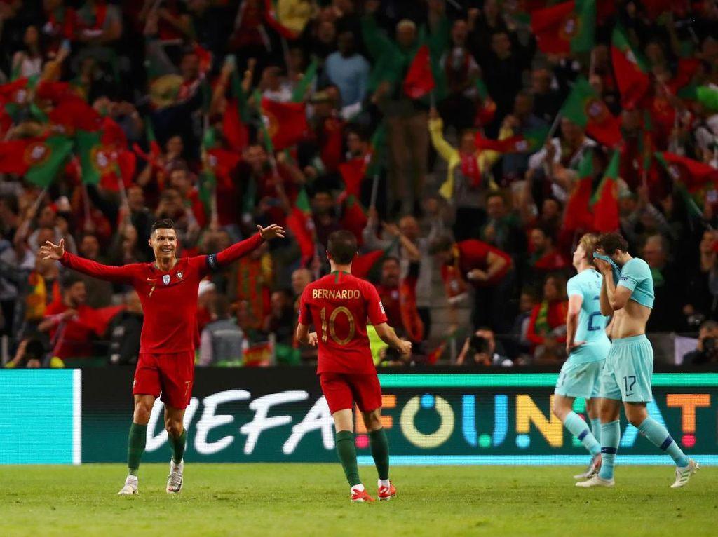 UEFA Nations League: Bernardo Silva Terbaik, Ronaldo Topskorer