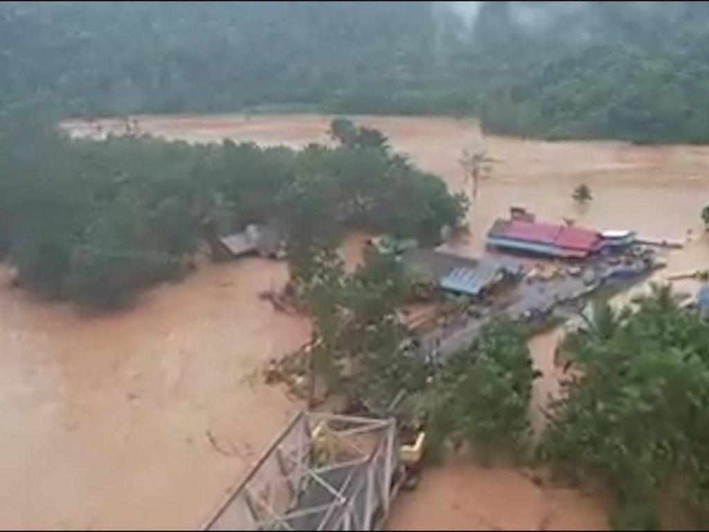 Banjir Landa Konawe Utara, Bupati Tetapkan Status Tanggap Darurat