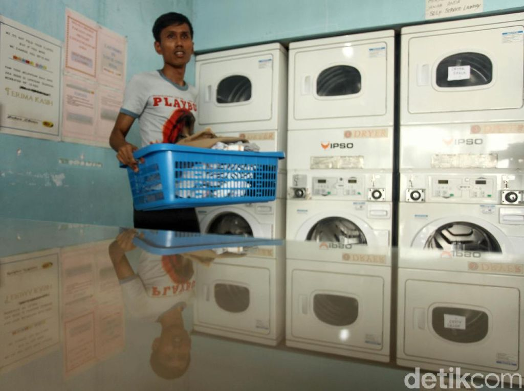 Mau Bisnis Laundry Kiloan Modal 3 Jutaan? Bisa Lho
