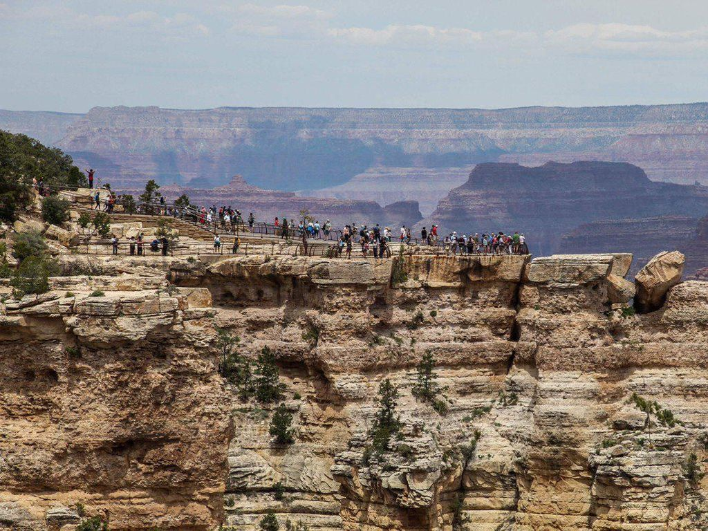 Foto: Keindahan Grand Canyon yang Mematikan