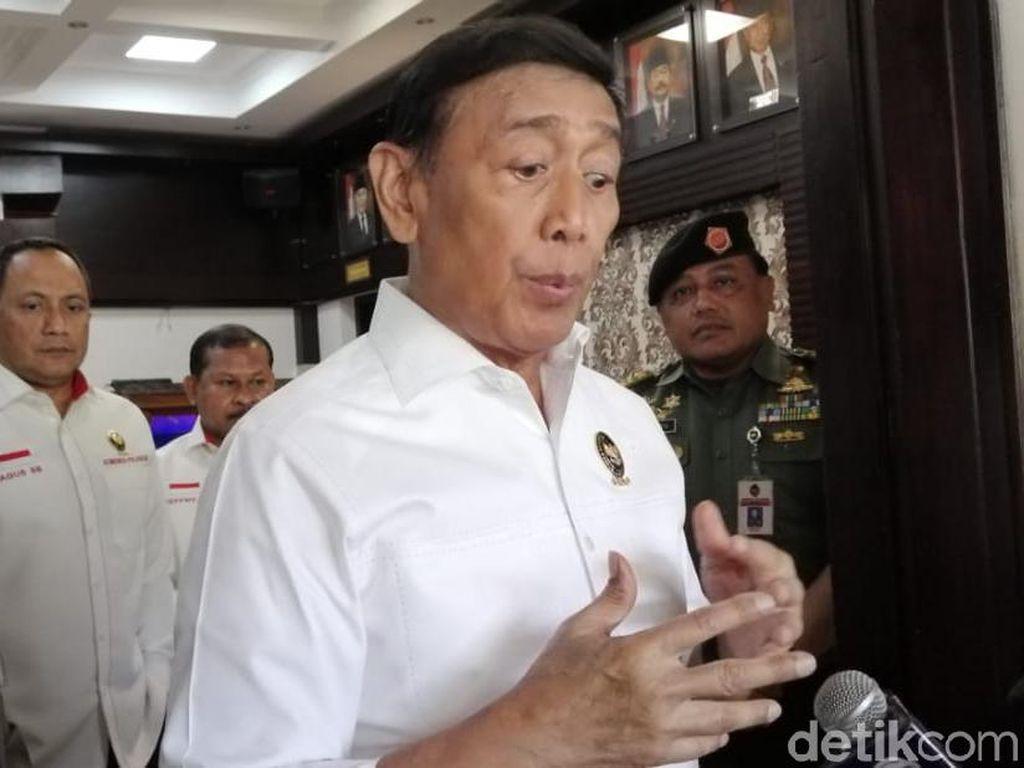 Ada Sidang Gugatan Pilpres di MK, Wiranto: Tidak Ada Pelemotan Medsos