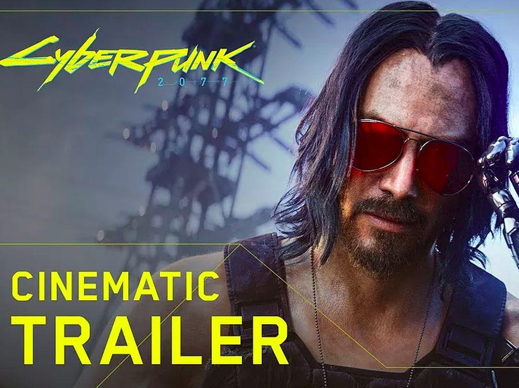 Siap-siap! Game Cyberpunk 2077 Akan Sarat Aksi Keanu Reeves