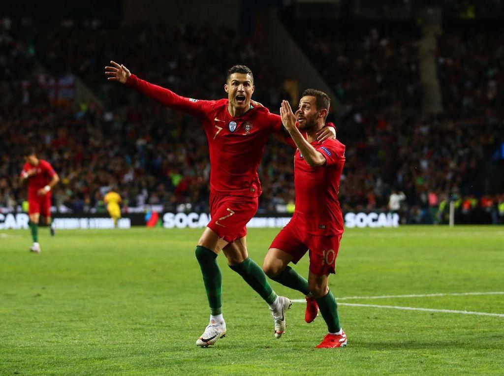 Ronaldo Cemburu Bernardo Silva Jadi Pemain Terbaik?