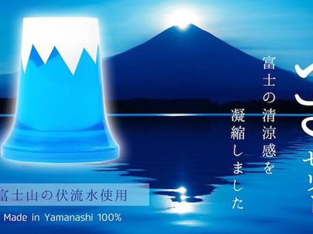 Semua Orang Kini Bisa Makan Gunung Fuji yang Kenyal dan Manis