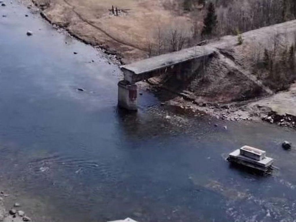 Pencuri di Rusia Curi Besi Jembatan Rel Kereta Api Seberat 56 Ton