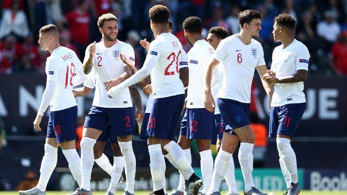 Tim nasional Inggris harus puas finis ketiga di UEFA Nations League (Foto: Jan Kruger/Getty Images)
