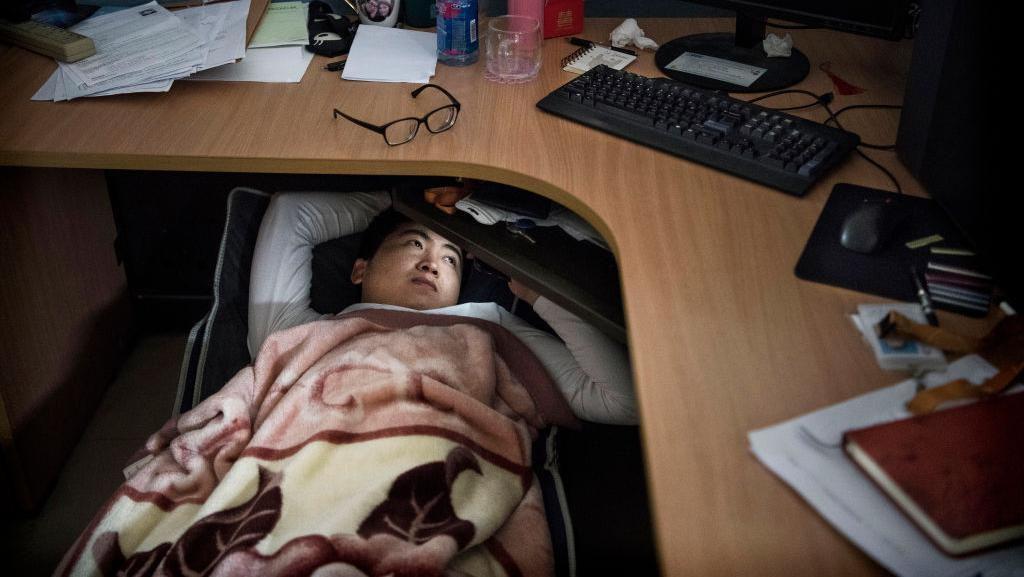 Di Kantor Huawei Karyawan Tak Cuma Kerja, Tidur Siang pun Bisa